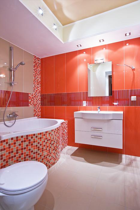 Квартира. ванная из проекта , фото №16428