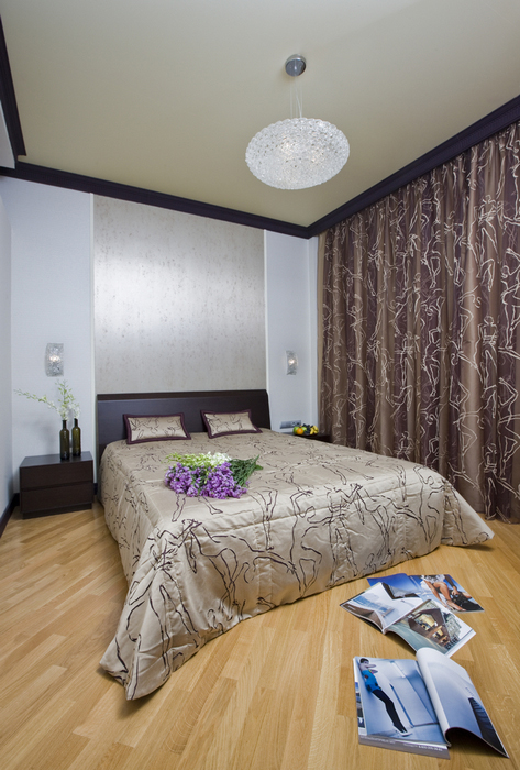 интерьер спальни - фото № 16427