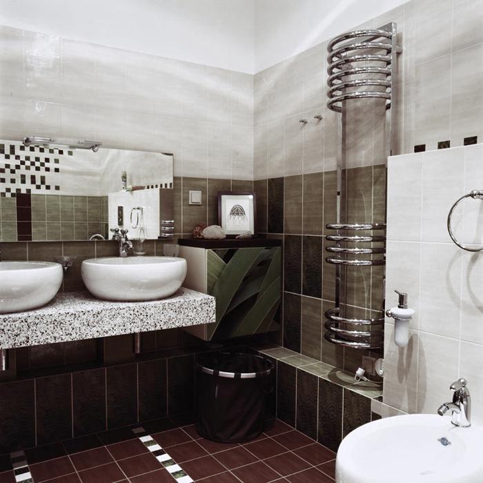 Квартира. ванная из проекта , фото №16489