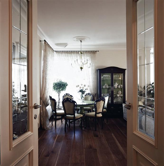 Квартира. столовая из проекта , фото №16498