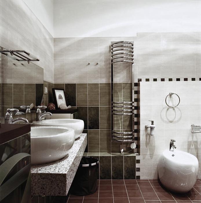 Квартира. ванная из проекта , фото №16490