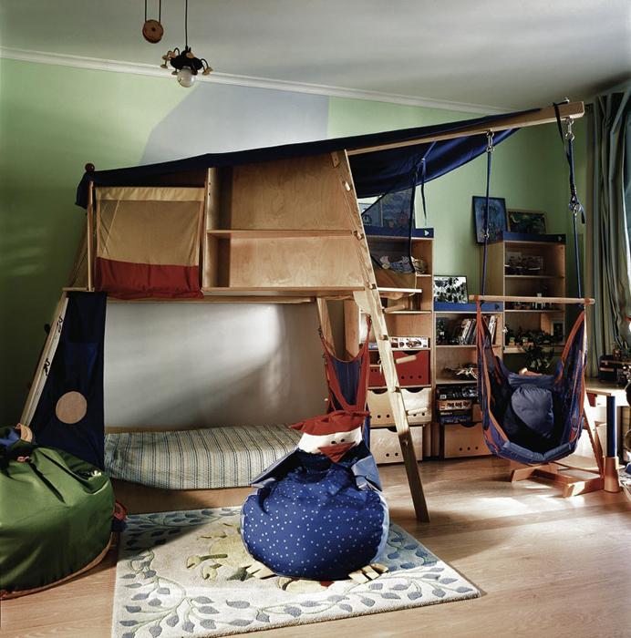 Фото № 16497 детская  Квартира