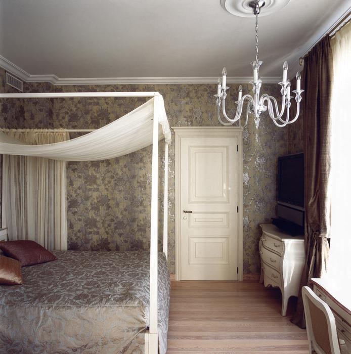 Квартира. спальня из проекта , фото №16492