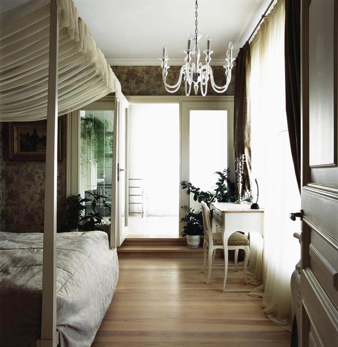 Квартира. спальня из проекта , фото №16493