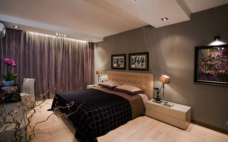 Квартира. спальня из проекта , фото №16561