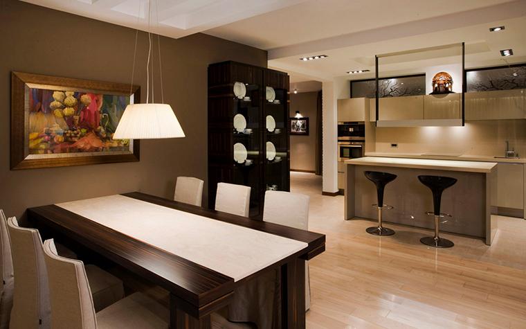 Квартира. столовая из проекта , фото №16566