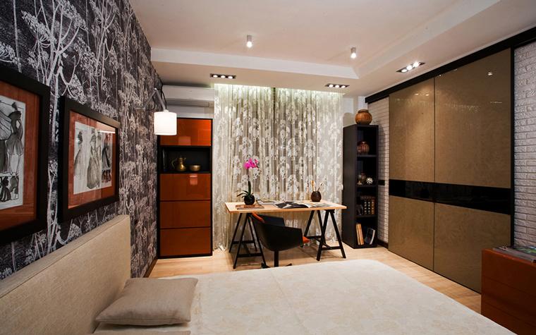 Квартира. спальня из проекта , фото №16559
