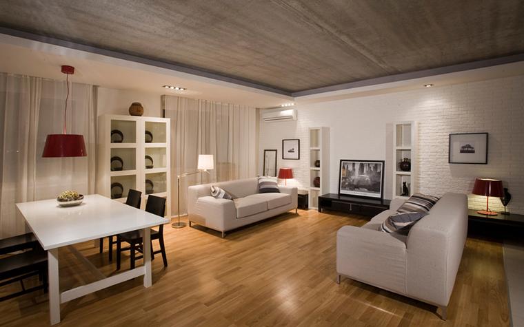 интерьер гостиной - фото № 16576