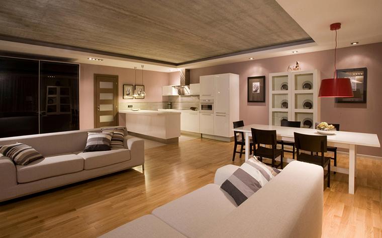 интерьер гостиной - фото № 16581
