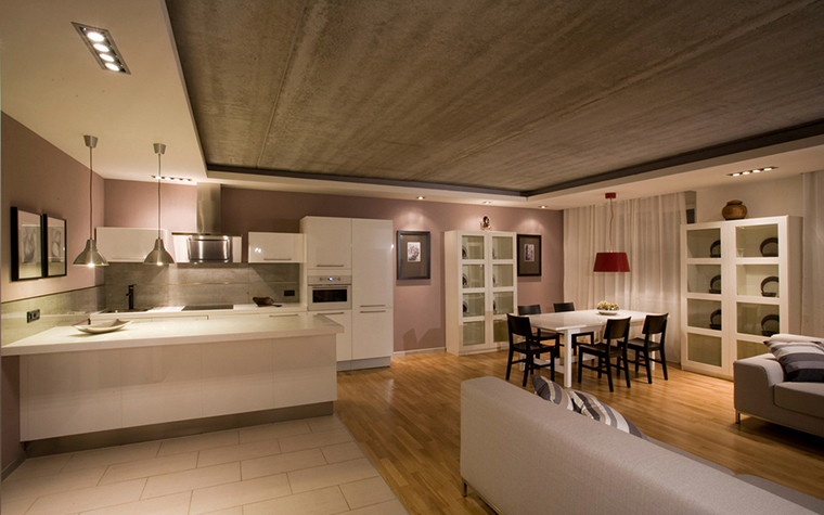 Фото № 16584 кухня  Квартира