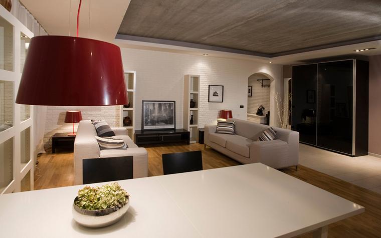 интерьер гостиной - фото № 16575