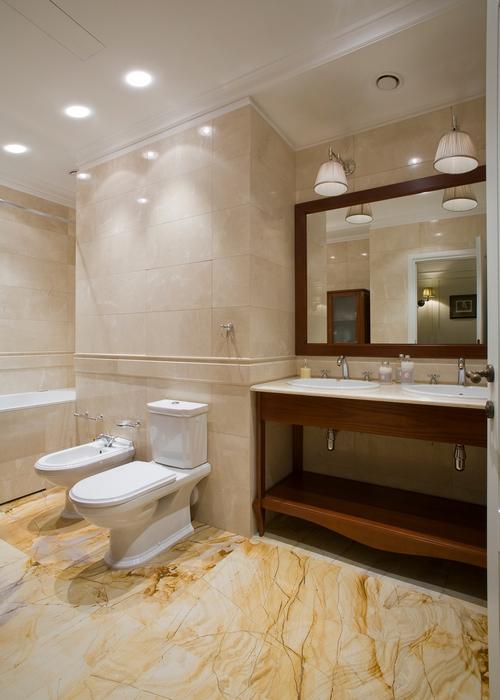Квартира. ванная из проекта , фото №16611