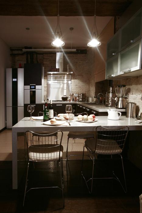Квартира. кухня из проекта , фото №16616