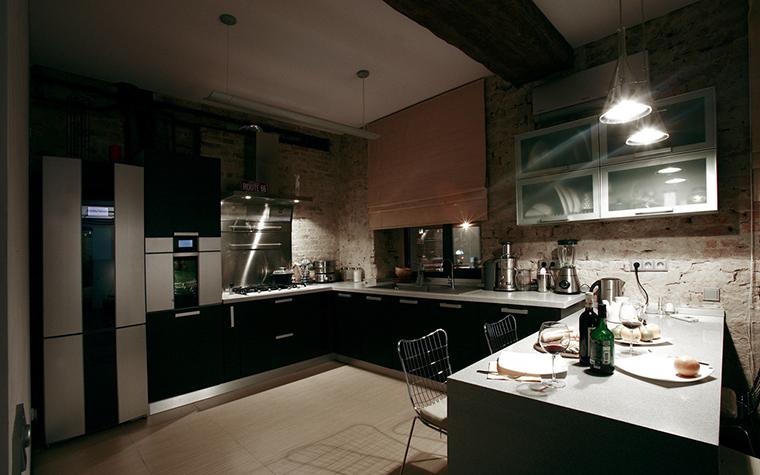 Квартира. кухня из проекта , фото №16617