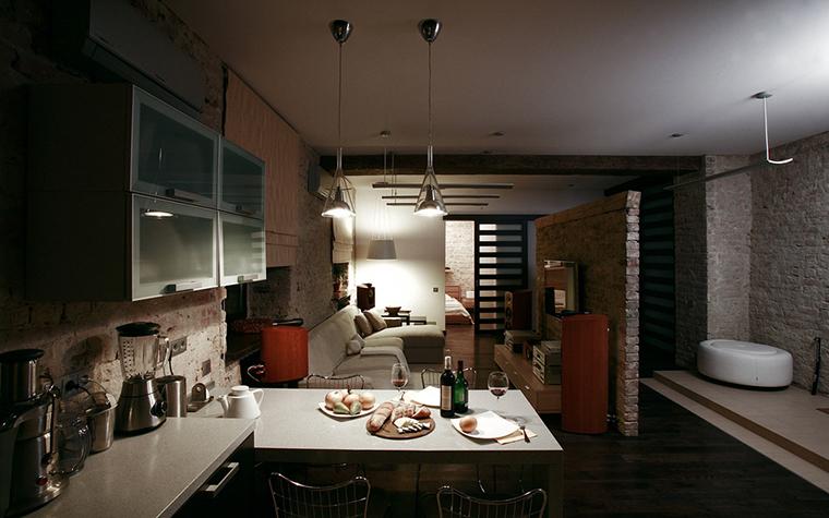 Квартира. кухня из проекта , фото №16618