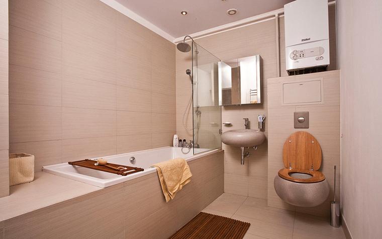 Квартира. ванная из проекта , фото №16622