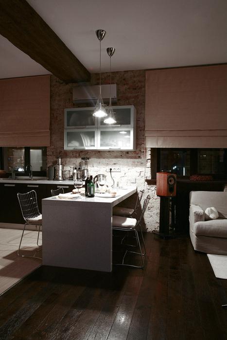 Квартира. кухня из проекта , фото №16615