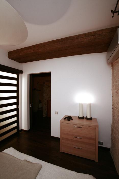 Квартира. спальня из проекта , фото №16621