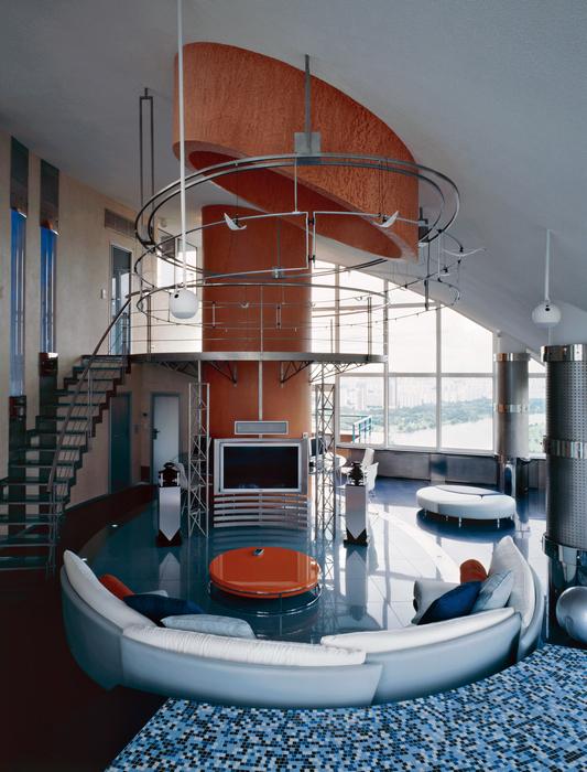 Фото № 16640 гостиная  Квартира