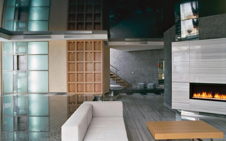 интерьер гостиной - фото № 16632