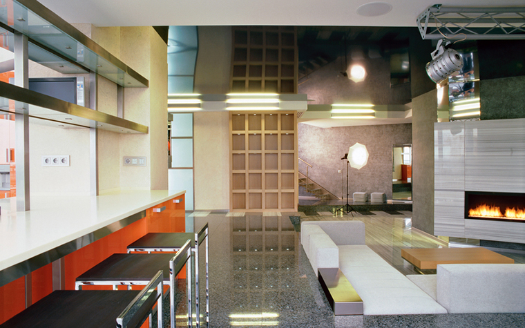 интерьер гостиной - фото № 16633
