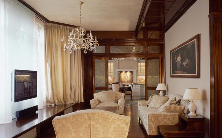 Фото № 16657 гостиная  Квартира
