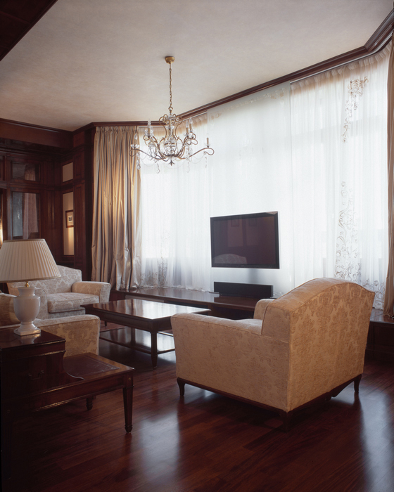 Фото № 16658 гостиная  Квартира