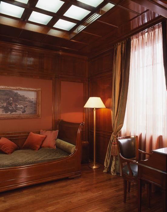 Фото № 16663 кабинет библиотека  Квартира