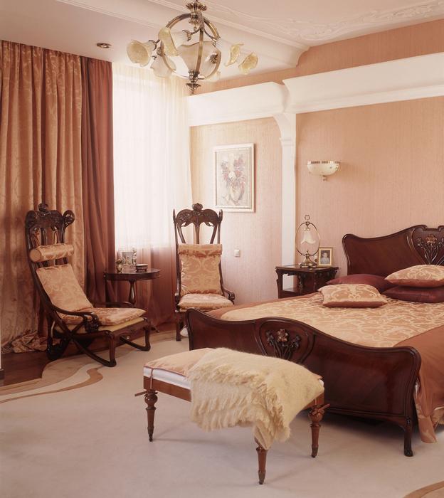 Квартира. спальня из проекта , фото №16687
