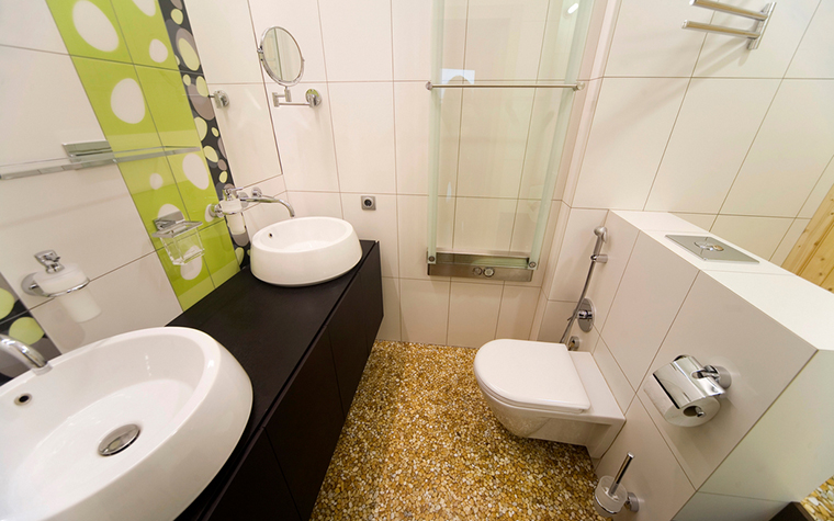 Квартира. ванная из проекта , фото №16771