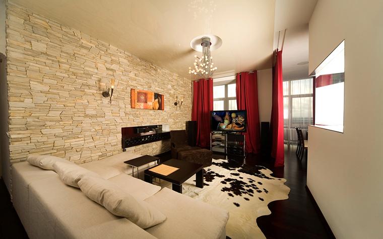 Квартира. гостиная из проекта , фото №16777