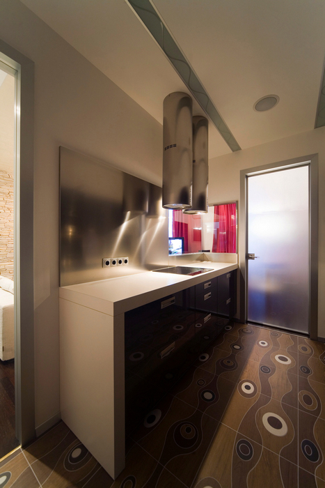 Квартира. кухня из проекта , фото №16783