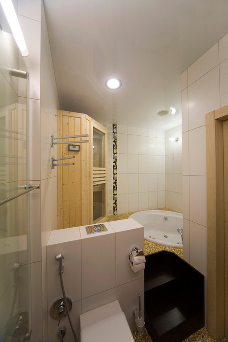 Квартира. ванная из проекта , фото №16772