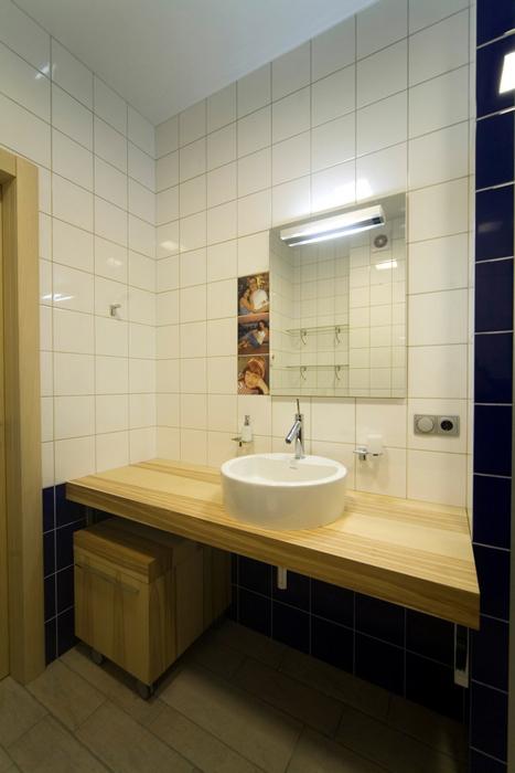 Квартира. ванная из проекта , фото №16790
