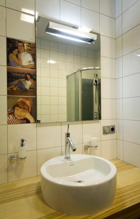 Квартира. ванная из проекта , фото №16792