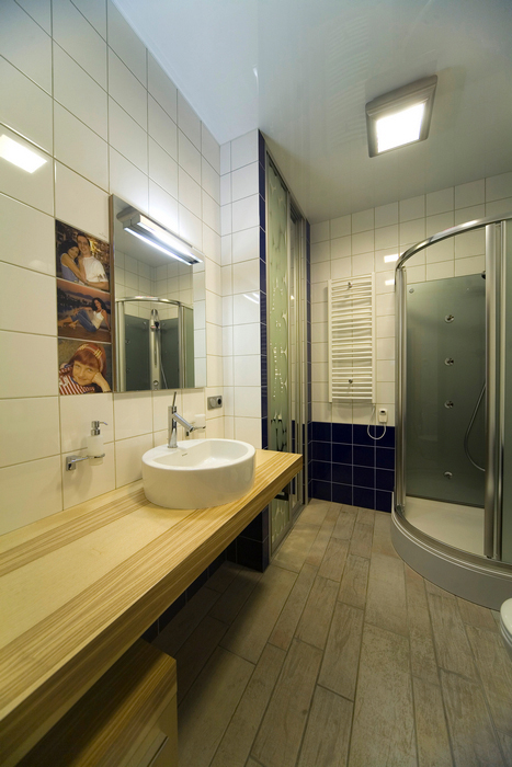 Квартира. ванная из проекта , фото №16793
