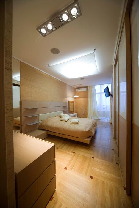 Квартира. спальня из проекта , фото №16789