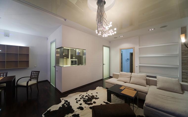 Квартира. гостиная из проекта , фото №16774