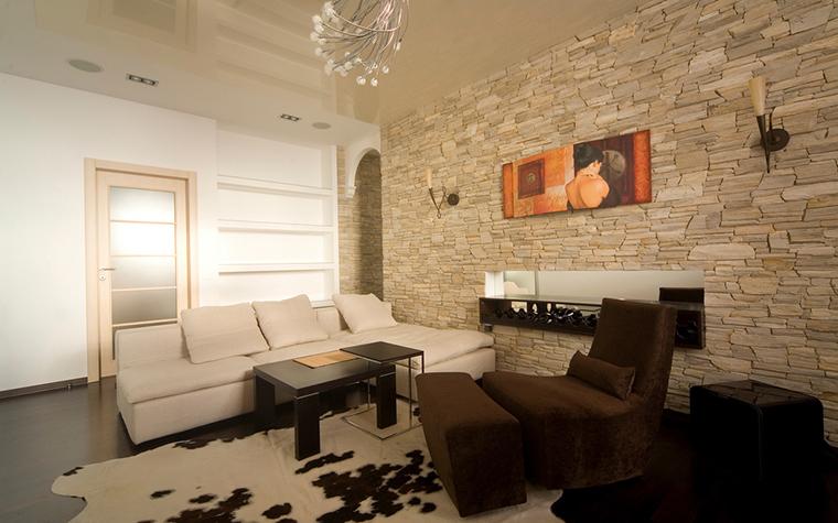 Квартира. гостиная из проекта , фото №16775