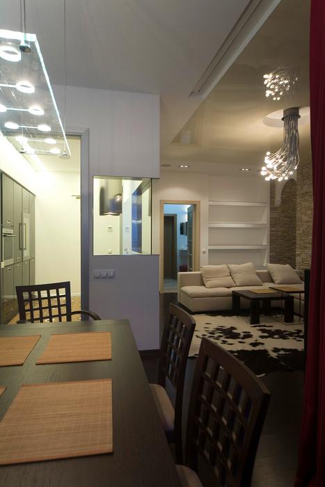 Квартира. гостиная из проекта , фото №16776