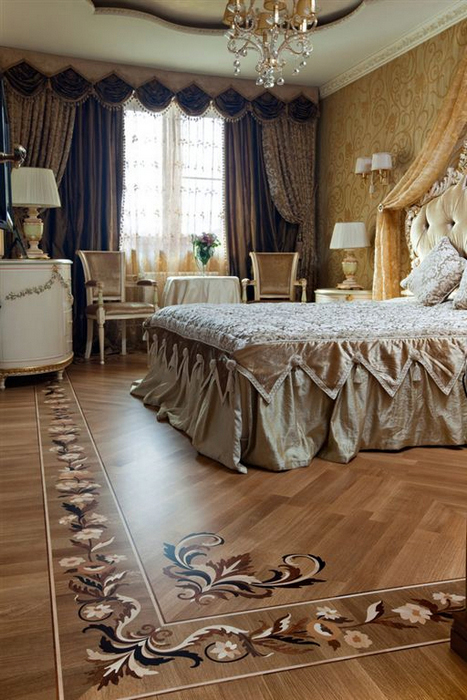 интерьер спальни - фото № 16798