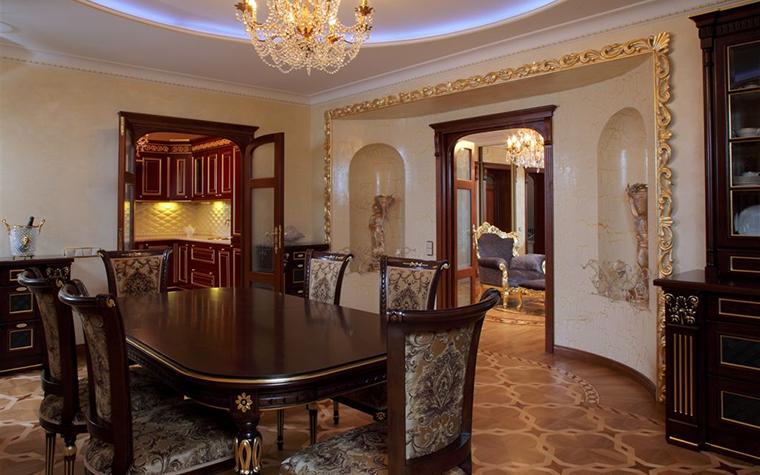 Квартира. столовая из проекта , фото №16811
