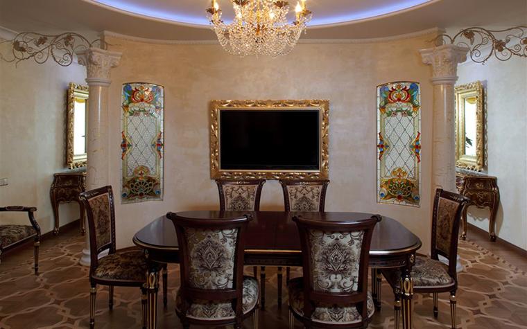 Квартира. столовая из проекта , фото №16812