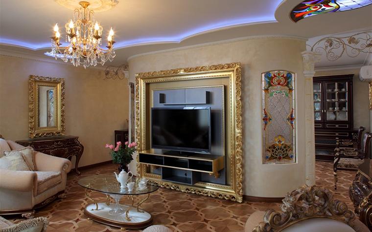Фото № 16804 гостиная  Квартира