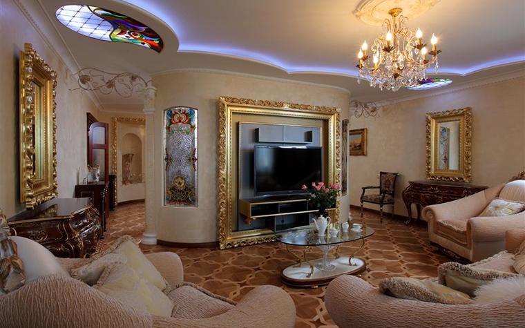 Фото № 16806 гостиная  Квартира