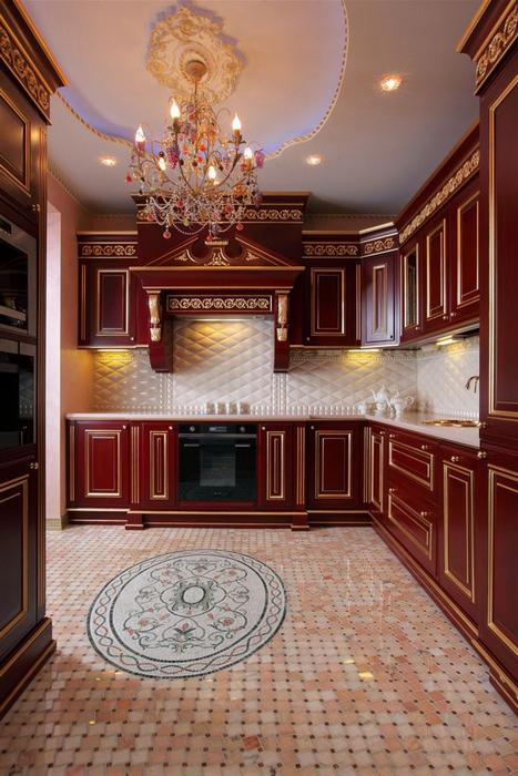 Фото № 16813 кухня  Квартира