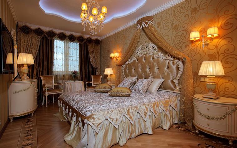 Квартира. спальня из проекта , фото №16799
