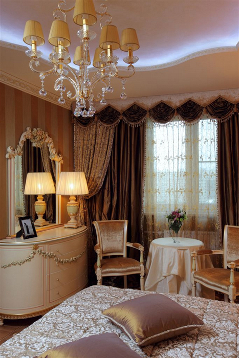 интерьер спальни - фото № 16800