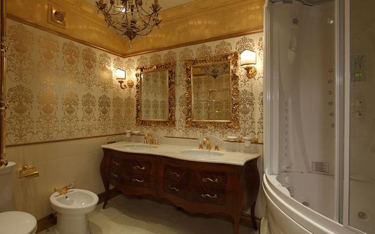 Квартира. ванная из проекта , фото №16830