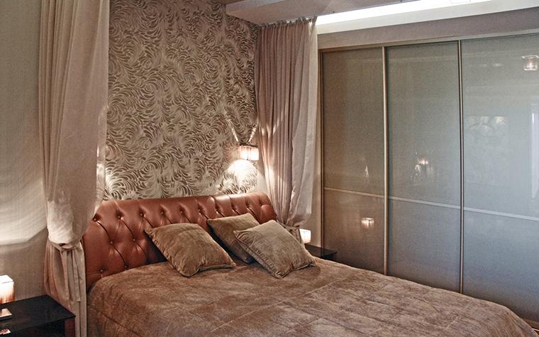 Квартира. спальня из проекта , фото №16875